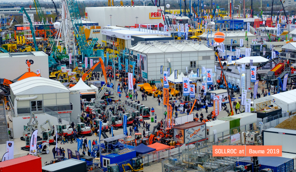 2019-4-8 Bauma Germany 2019